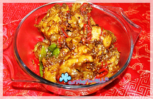 RESEPI : Ayam Cencaluk Dan Nasi Goreng Sardin