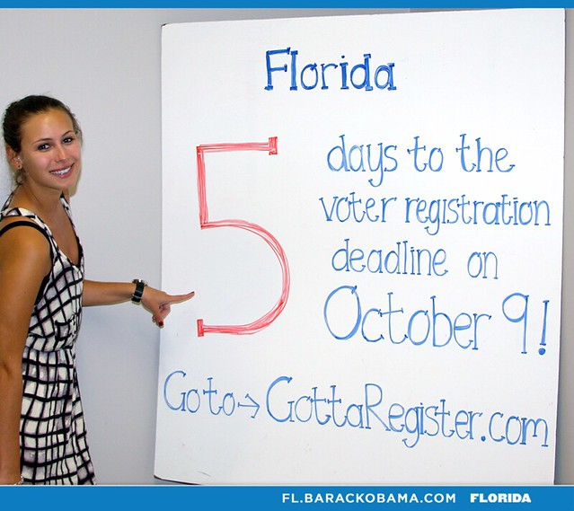 Five days left to register in Florida