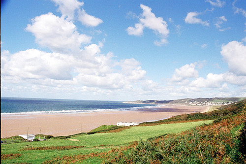 Looking towards woolacombe