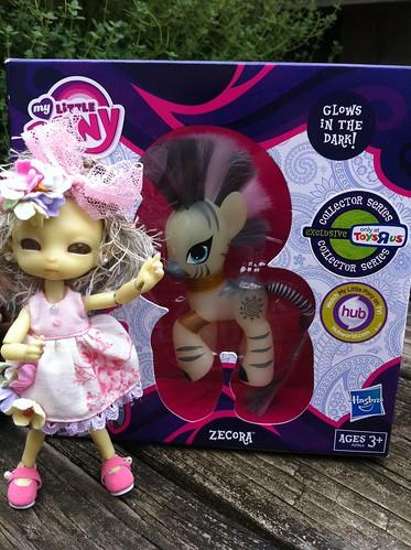 Me SpunkyMosT Lil PonY Even GLoWZ!!! by DollZWize