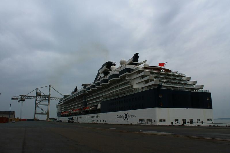 Paquebot Celebrity Constellation au Port de Bordeaux / Le Verdon - 06 octobre 2012
