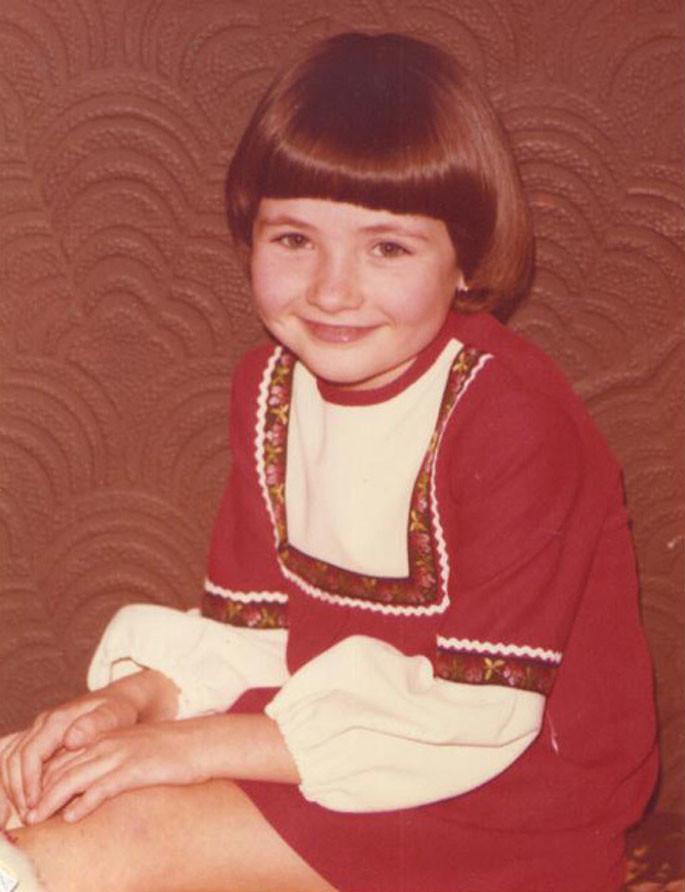 Catherine aged 5