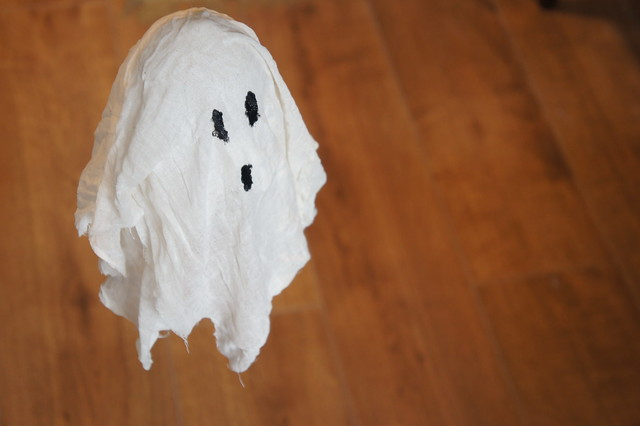 halloween ghosts diy