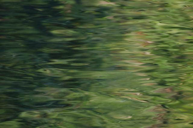 Green Reflection - Río Sella, Asturias