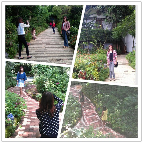 outfitey shoot at Sonya's Garden Tagaytay