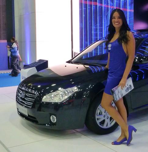 Francisca Grandi - Salón del Automóvil 2012 - FAW