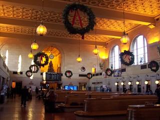 New Haven Station Interior