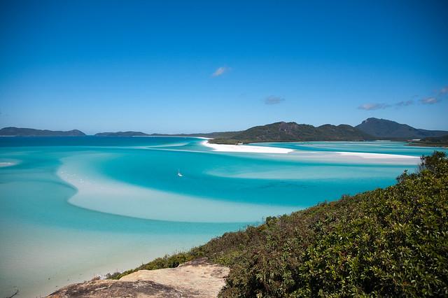 Las islas Whitsunday, Australia