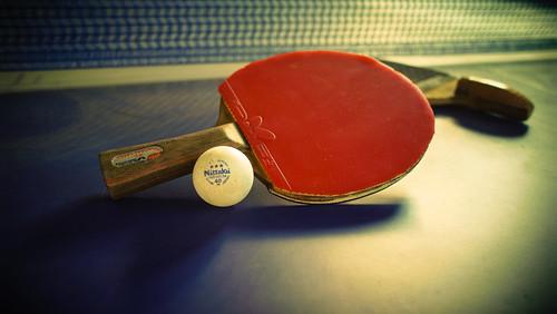 [フリー画像素材] スポーツ, 球技, 卓球 ID:201210131800