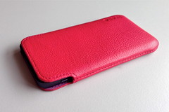 rectangle, mobile phone, leather, case, gadget,