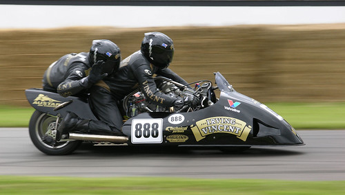 SIDECAR RACER by andy wright;pdo;braintree