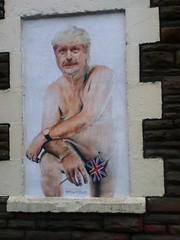 Boris Johnson Street Art