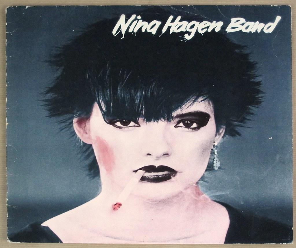 "NINA HAGEN BAND SELF-TITLED 12"" LP VINYL"