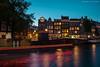 Nightfall on the Prinsengracht