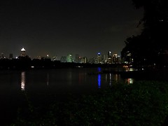 #nighttime at #benjakitipark #bangkok
