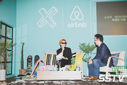 G-Dragon - Airbnb x G-Dragon - 20aug2015 - SSTV - 03