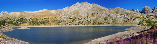 Panorama Lac d' Allos