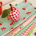 mini apple pincushion