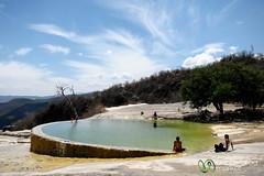 Natural Springs of Hierve el Agua - Oaxaca, Mexico