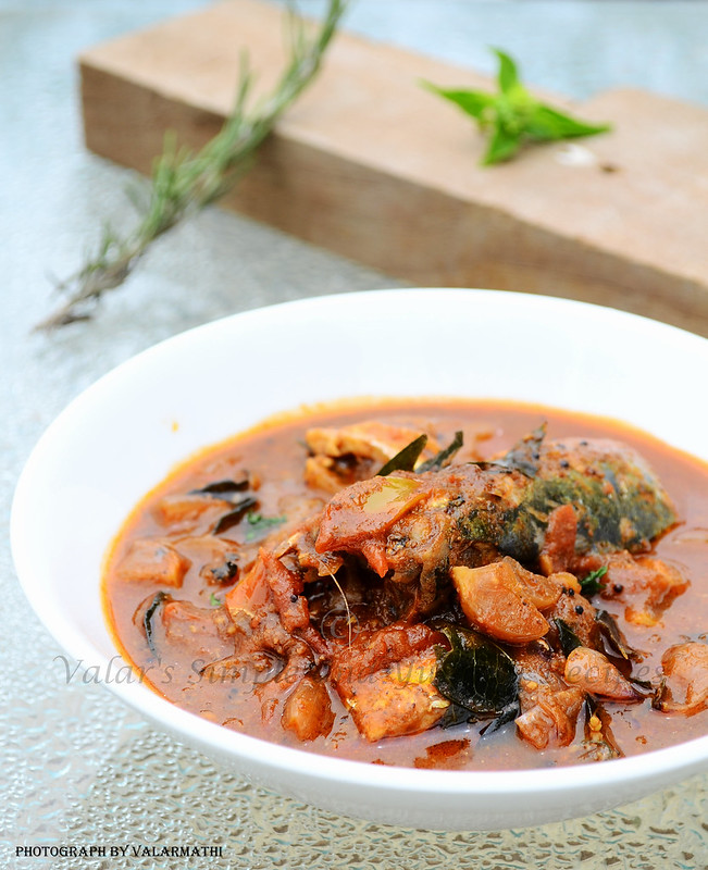 Chettinadu Style Fish Curry