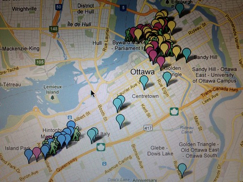 A sneaky glimpse of how much Ottawa is going to bust out on September 22nd. Nuit Blanche Ottawa #NBO12