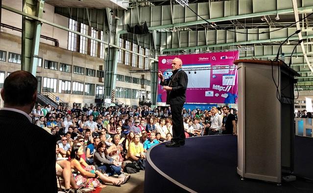 Paulo Coelho na Campus Party