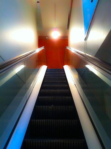 Art Gallery Escalator