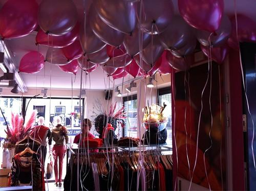 Heliumballonnen Opening Twins Hellevoetsluis