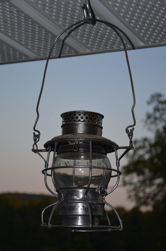 Maryland & Pennsylvania Railroad Lantern (2) | Kevin Mueller