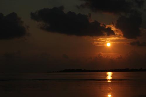 Sunrise at Teluk Bakau