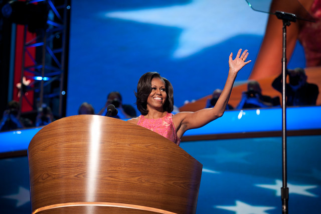 Michelle Obama at The DNC Convention—Charlotte September 4th