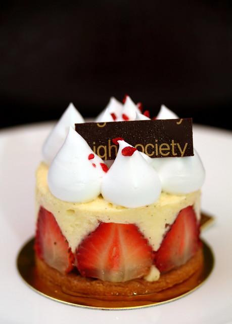 上流社会咖啡馆:草莓蛋糕