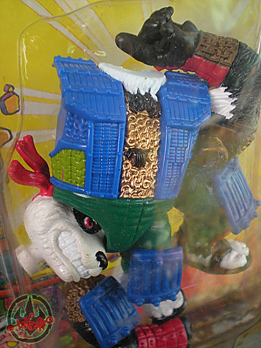 TEENAGE MUTANT NINJA TURTLES :: PANDA KHAN / SCRAMBLED VARIANT iii (( 1990 ))
