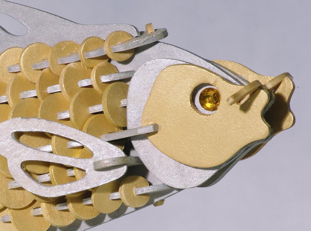 手工模型創作之銀魚