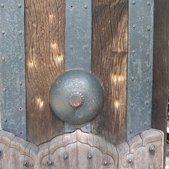 Bullet Marks in Hamaguri Gate