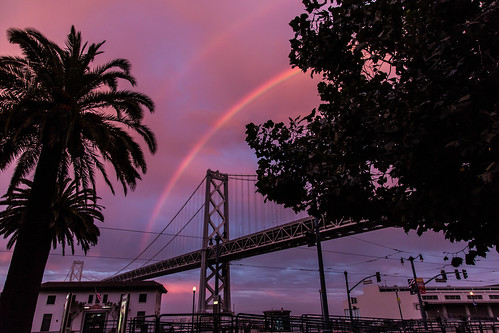 Bay Bridge Rainbow