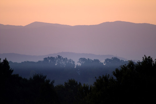 mountains sunrise knoxville