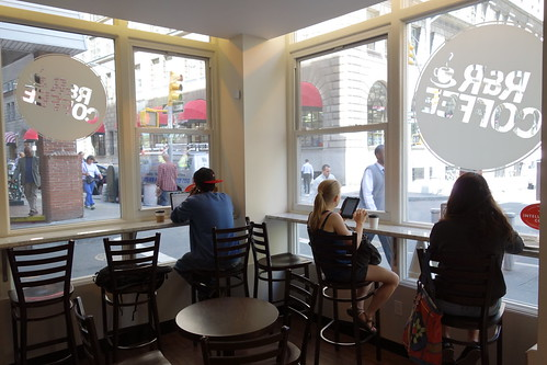 R & R Coffee | Fulton St (Gold St) | Financial District