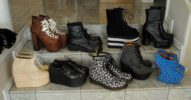 new shoes. shoe haul up on blog