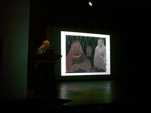 Gieve Patels lecture in NGMA Bengaluru