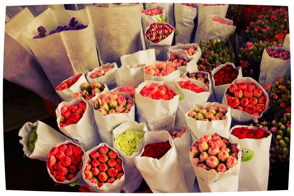 Mong Kok Flower Market
