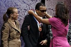 Muhammed Ali Gets Liberty Medal