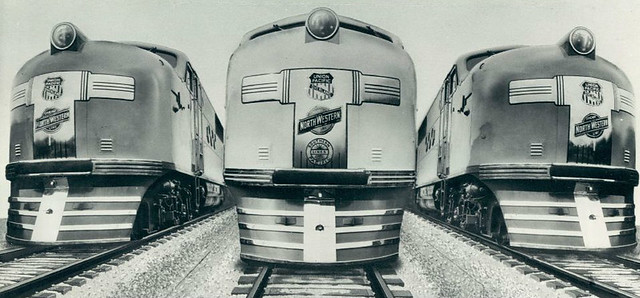 UP EMC E2 locomotives 1938