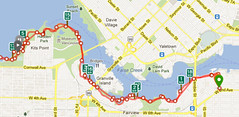 The route i did run