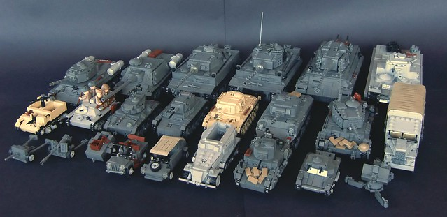 Lego ww2 army of 2012