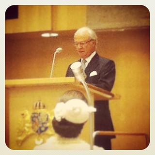 H M Konungen förklarar Riksmötet öppnat.