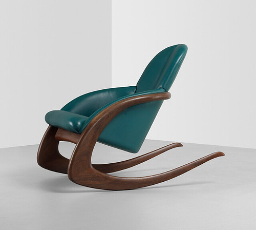 Wendell Castle, Crescent Rocker, 1984, Lot 223