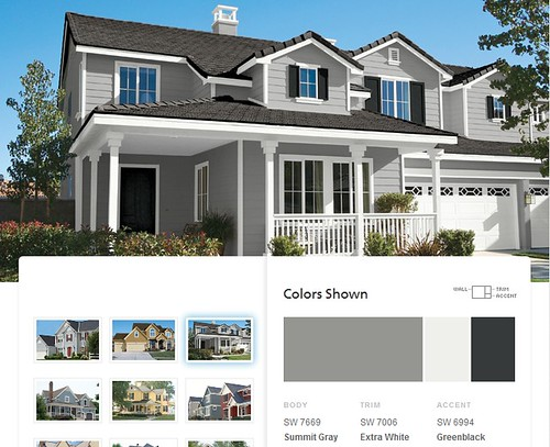 Trying to choose exterior paint colors it 39 s great to be home - Grey exterior paint schemes property ...