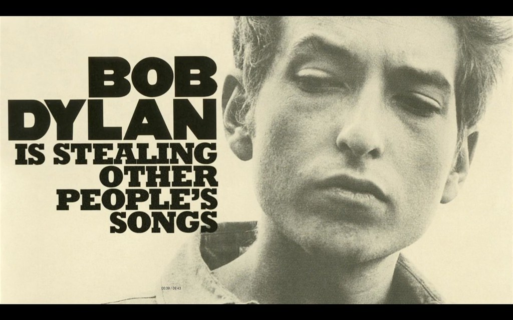 Bob Dylan is stealing other people's songs (except that he isn't really) by Kirby Ferguson @RemixEverything