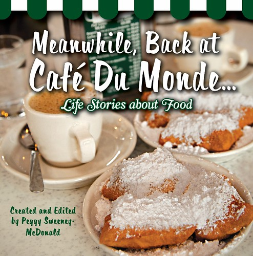 Meanwhile at Cafe Du Monde, Peggy Sweeney McDonald by trudeau